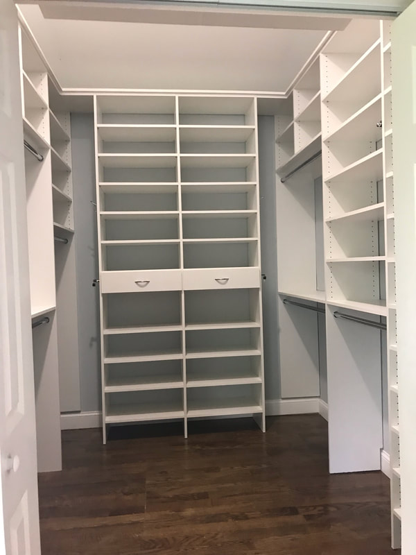 Shoe - Wall with Jewelry Drawers