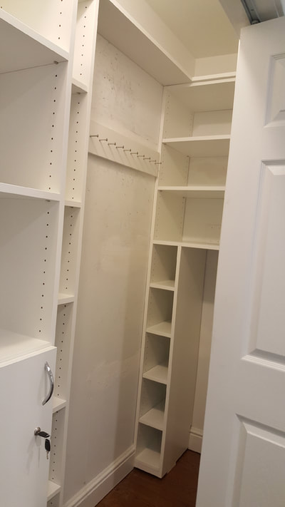 White Melamine Pantry