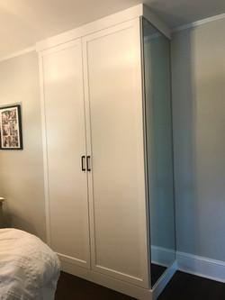 Wardrobe Cabinet - White - Shaker