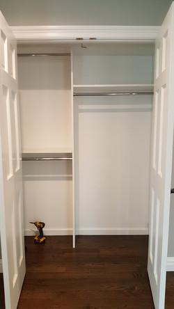White Melamine Slab - Children's Closets