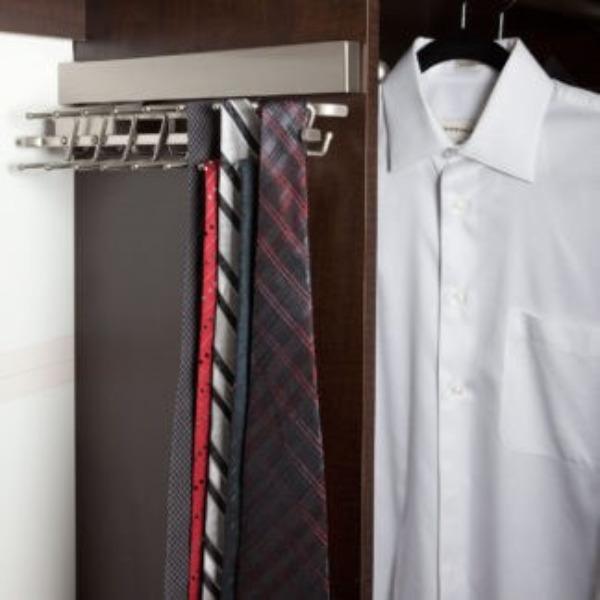 Standard Tie Rack (Chrome Finish)