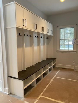 Mudroom Bench -White with After Hours