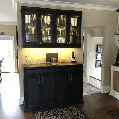 Living Room Bar Unit Alto Line