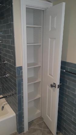 Bathroom Linen - White Melamine