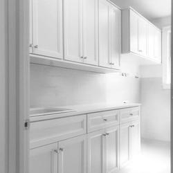 Laundry Room -White Melamine - Transitio