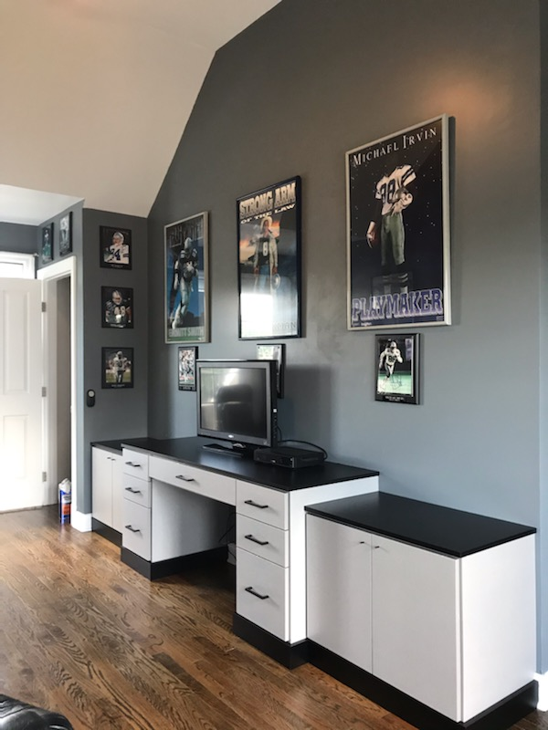 Home Office - Brushed Aluminum