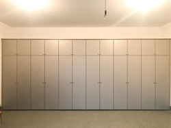 Garage - Brushed Aluminum - Slab Doors
