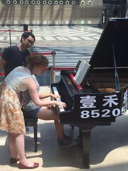 Teaching in Xi'an China