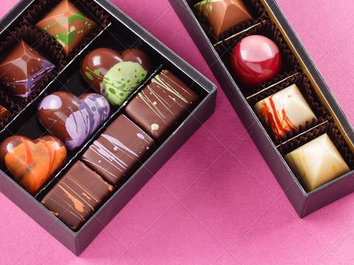 Съемка шоколадных конфет для тм Spell