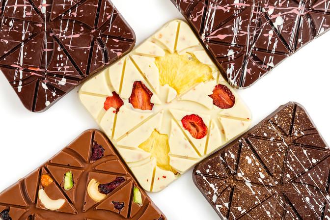 Студийная съемка шоколада
