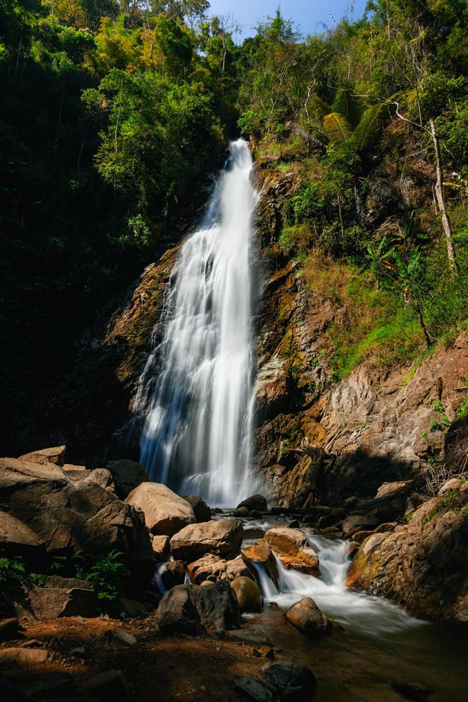 hun Korn Forest Park Waterfall, Thailand