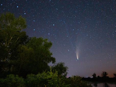 Комета Neowise C/2020 F3 - Украина, Июль 2020