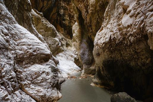 Saklikent canyon