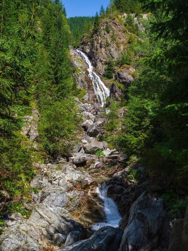 Cascada Moara Dracilor or Falls mill Dracilor