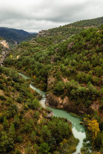 Serrania de Cuenca natural park in Spain