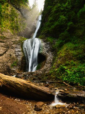 Cascada Duruitoarea in Ceahlu National Park