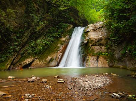 Cascada Casoca or Pruncea Waterfall