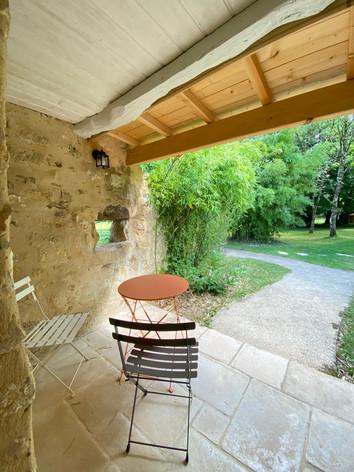 Terrasse chambre Bertille