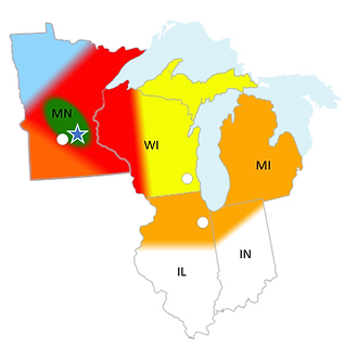 ElectroTech Territory Map - WI Utility 2