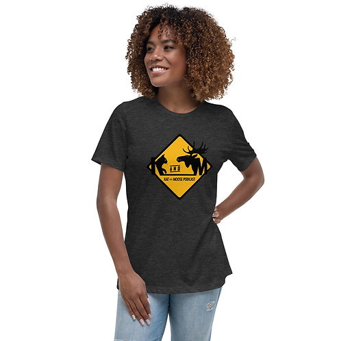 Kat and Moose Women's Relaxed T-Shirt