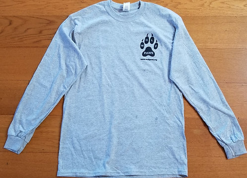 Wolf PAWS T-shirt Long Sleeve