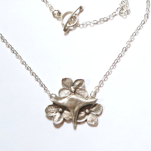 Flower Creature Necklace