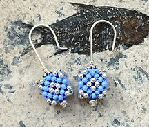 Hand Beaded Earrings