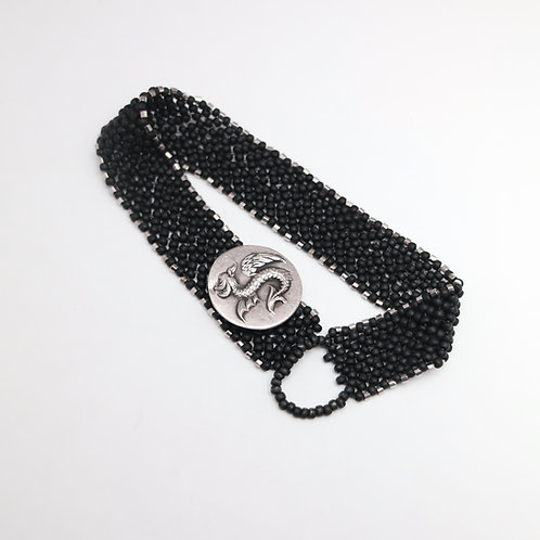 Dragon (Griffin) Bracelet - Right Angle Weave