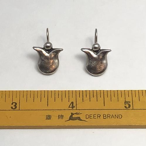Modern Tulips Earrings - Petite