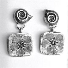 Handmade Silver Earrings - Lisa Johnson Jewelry