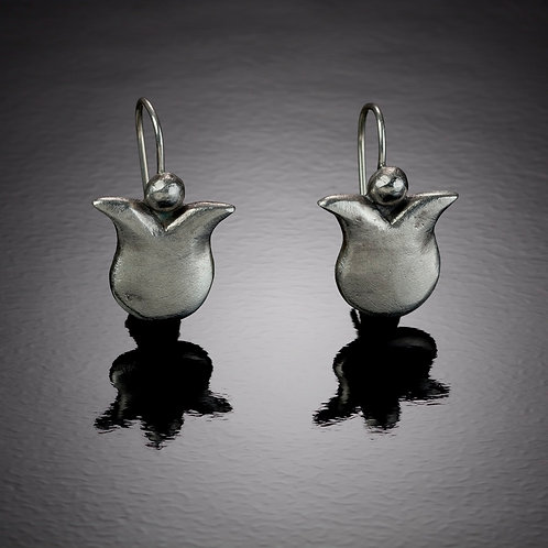 Modern Tulips Earrings