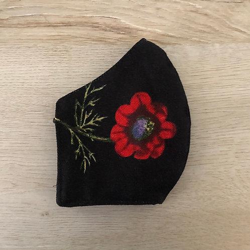 Poppy Face Mask - Small