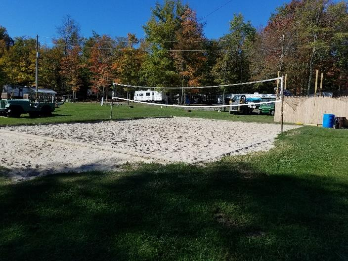 Volleyball Pit