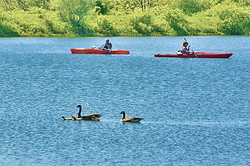 Western NY Campground Lake