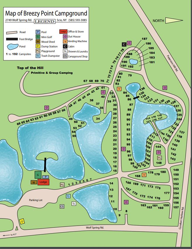 Breezy Point Map