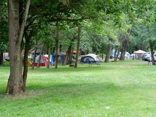 Tents in A Area