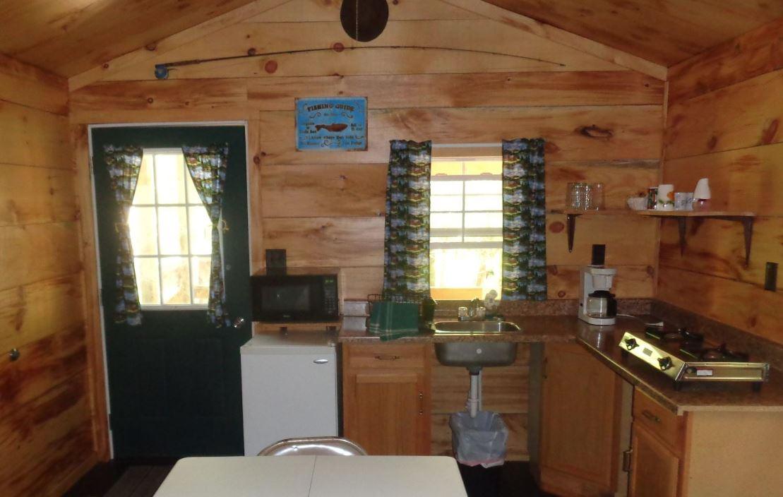 Hemlock Cabin Interior