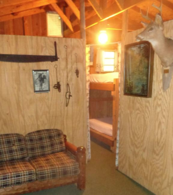 Interior Trapper Lodge