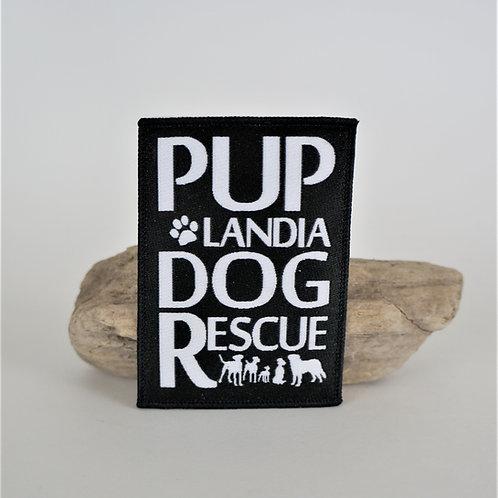 Puplandia Dog Rescue Iron-On Patch
