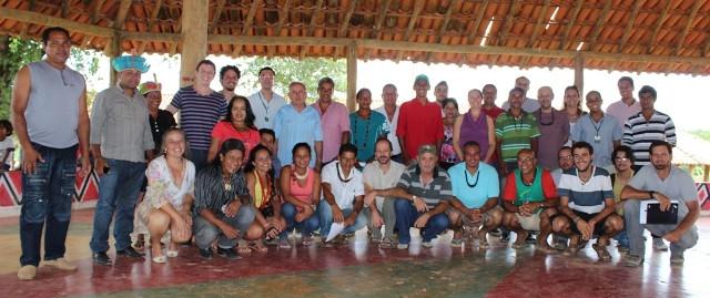 Reunião de Implantação do Conselho Regional do GATI Nordeste II