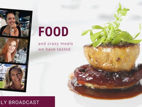 Webinář zdarma - FOOD and crazy meals we have tasted