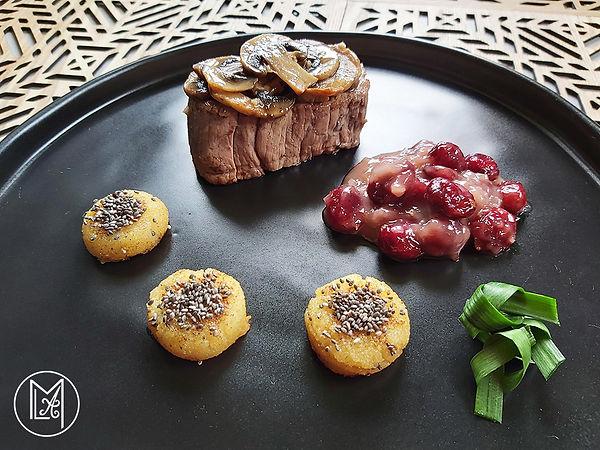 boeuf-shitake-cranberry-houmous-lentille