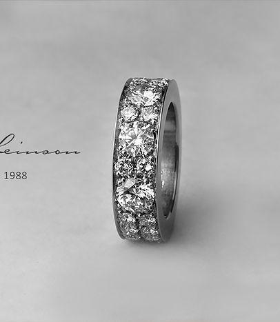 Gad Leinson diamond ring details