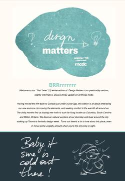 Design Matters : winter '18
