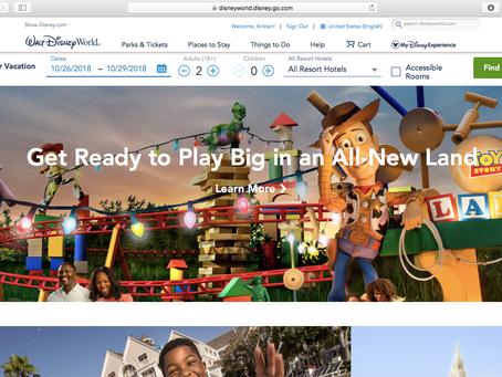 Run Disney Blog Series - My Disney Experience