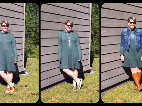 Outfit of the Day - One Dress Styled Three Different Ways!