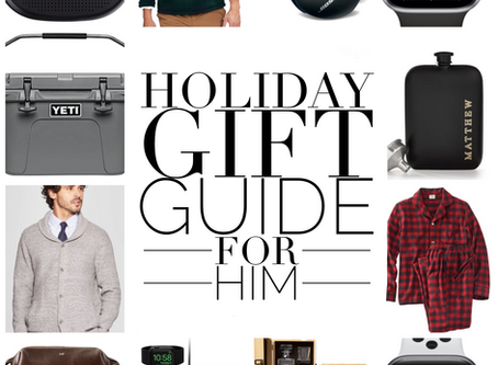 Holiday Gift Guide - For Him!