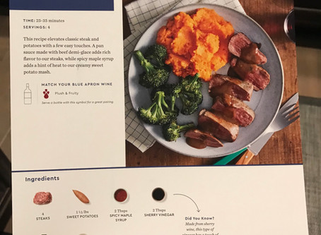 Blue Apron Review - Meal Two