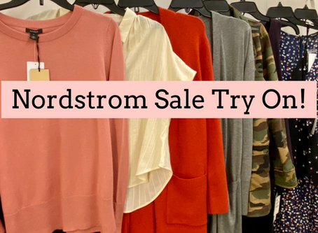 Nordstrom Sale Try On!
