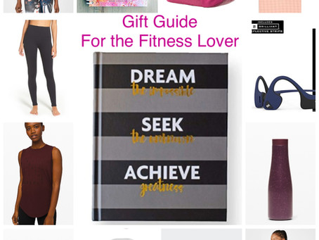 Holiday Gift Guide - For the Fitness Lover!